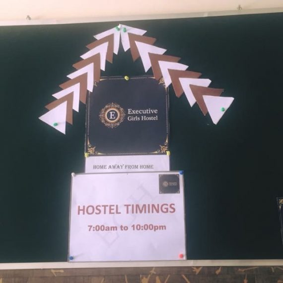 Time table of executive girls Hostel islamabad