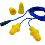 headphones or earplugs for packing