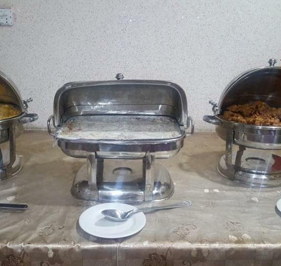 executive girls hostel dishes
